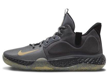 Nike KD Trey 5 VII Dark Grey Club Goldの写真