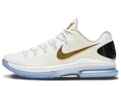 Nike KD 5 Elite+ White Goldの写真
