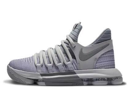 Nike KD 10 Wolf Grey GSの写真
