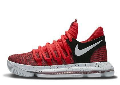 Nike KD 10 University Red GSの写真