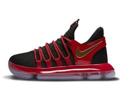 Nike KD 10 Bred GSの写真