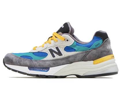 New Balance M992RR Gray/Greeenの写真
