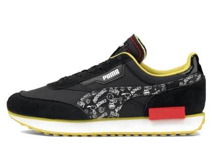 Puma Future Rider  Peanuts Yellow/Navyの写真