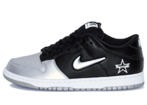Nike SB Dunk Low Supreme Jewel Swoosh Silverの写真