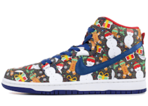 Nike SB Dunk High Concepts Ugly Christmas Sweater (2017)の写真