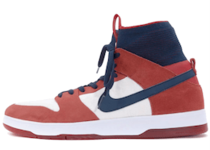 Nike SB Dunk High Elite Red Navy Whiteの写真