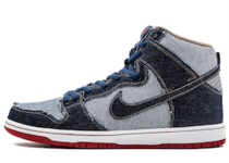 Nike SB Dunk High Reese Forbes Denimの写真