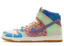 Nike SB Dunk High Thomas Campbell What the Dunkの写真