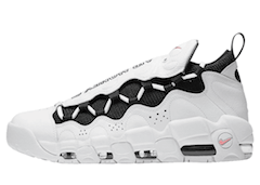 AIR MORE MONEY WHITE/BLACK-CORAL-CHALK WHITEの写真
