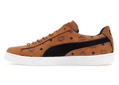 MCM × PUMA SUEDE CLASSIC 50TH ANNIVERSARY COLLECTIONの写真