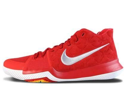 Nike Kyrie 3 Red Suedeの写真