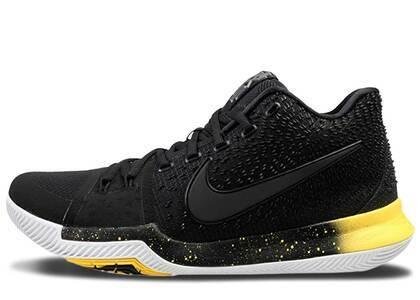 Nike Kyrie 3 Black Yellowの写真