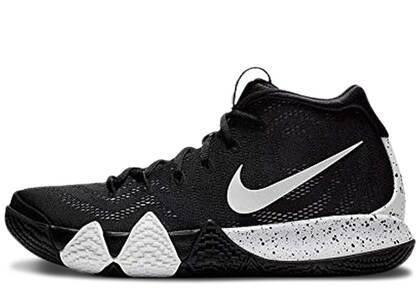 Nike Kyrie 4 Black Whiteの写真