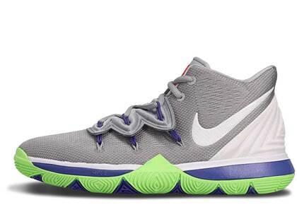 Nike Kyrie 5 Wolf Grey Lime Blast GSの写真