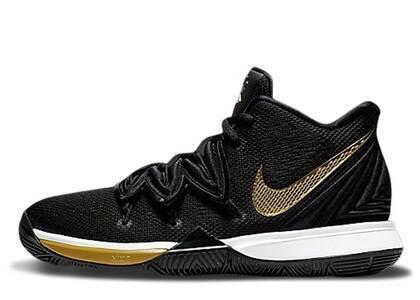 Nike Kyrie 5 Black Metallic Gold GSの写真