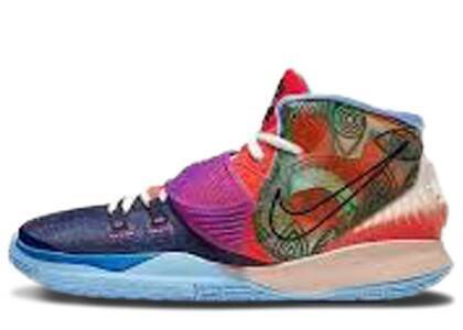 Nike Kyrie 6 Preheat Collection Heal the World GSの写真