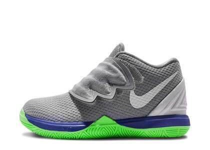 Nike Kyrie 5 Wolf Grey Lime Blast TDの写真