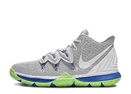 Nike Kyrie 5 Wolf Grey Lime Blast PSの写真