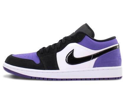 Nike Air Jordan 1 Low Purple Black Toeの写真