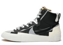 Nike Blazer Mid sacai Black Greyの写真