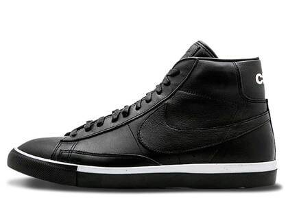 Nike Blazer High Comme des Garcons Black Whiteの写真