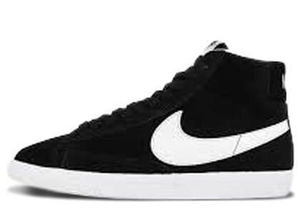 Nike Blazer Mid Premium Black White Gumの写真