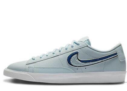 Nike Blazer Low 3D Chenille Swoosh Blue Tintの写真