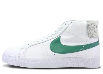 Nike SB Zoom Blazer Mid White Bicoastalの写真