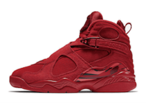 "AIR JORDAN 8 RETRO ""VALENTINE'S DAY"" GYM RED/EMBER GLOW-TEAM RED"