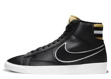 Nike Blazer Mid Black Wheat Gold Womensの写真
