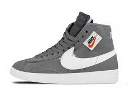 Nike Blazer Mid Rebel Cool Grey Womensの写真