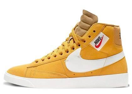 Nike Blazer Mid Rebel Yellow Ochre Womensの写真