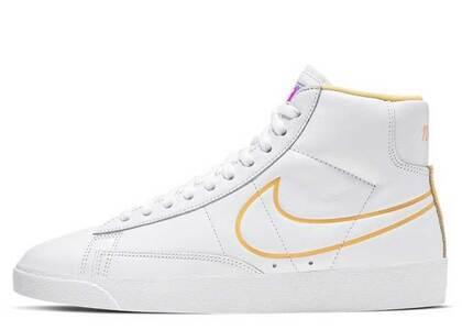 Nike Blazer Mid White Topaz Gold Womensの写真