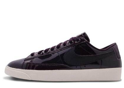 Nike Blazer Low Black Patent Womensの写真