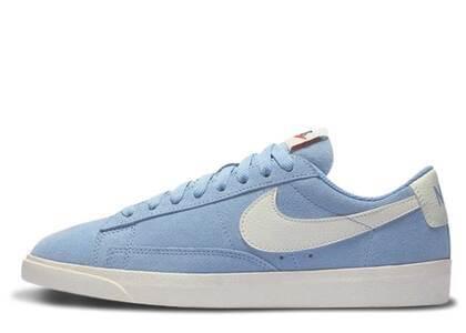 Nike Blazer Low Leche Blue Womensの写真