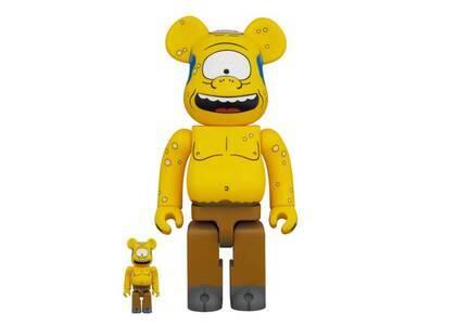 Be@rbrick Simpsons Csyclop 100% & 400%の写真