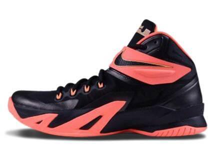 Nike Zoom Soldier 8 Black Mango Peachの写真