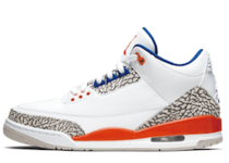 Nike Air Jordan 3 Retro Knicks (White/Orange)の写真