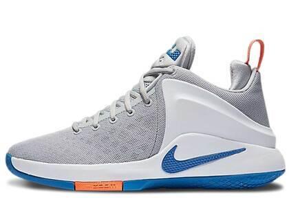 Nike LeBron Zoom Witness Wolf Grey Star Blueの写真