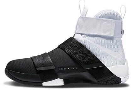 Nike LeBron Zoom Soldier 10 Pinnacle White Blackの写真