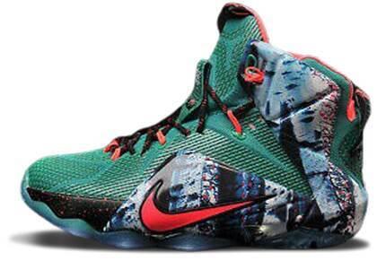 Nike LeBron 12 Akron Birch GSの写真