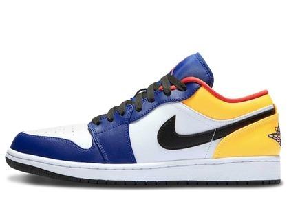NIke Air Jordan 1 Low Royal Yellowの写真