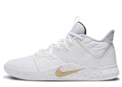 Nike PG 3 White Gold Navyの写真