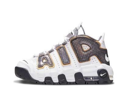 Nike Air More Uptempo White Anthracite Snakeskin PSの写真