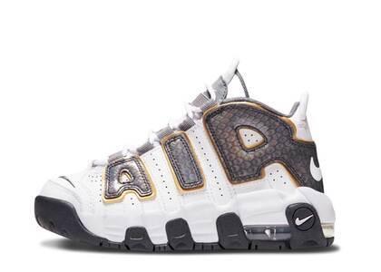Nike Air More Uptempo White Anthracite Snakeskin TDの写真