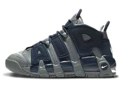 Nike Air More Uptempo 96 Cool Grey Midnight Navy GSの写真