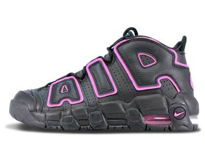 Nike Air More Uptempo Black Pink Blast GSの写真