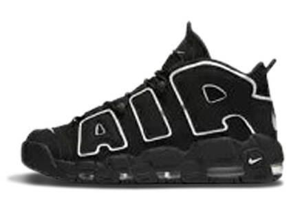 Nike Air More Uptempo Black White GS  (2016)の写真