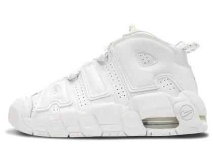 Nike Air More Uptempo Triple White GSの写真