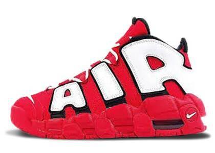 Nike Air More Uptempo University Red Black White GSの写真